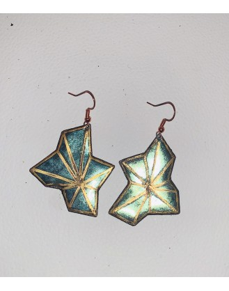 Golden Bloom Earrings RTS
